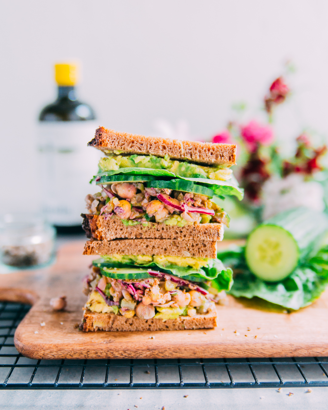 Vegan Chickpea Salad Sandwich