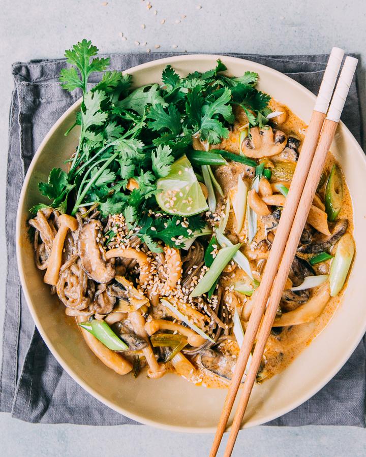 Miso Soba Noodles