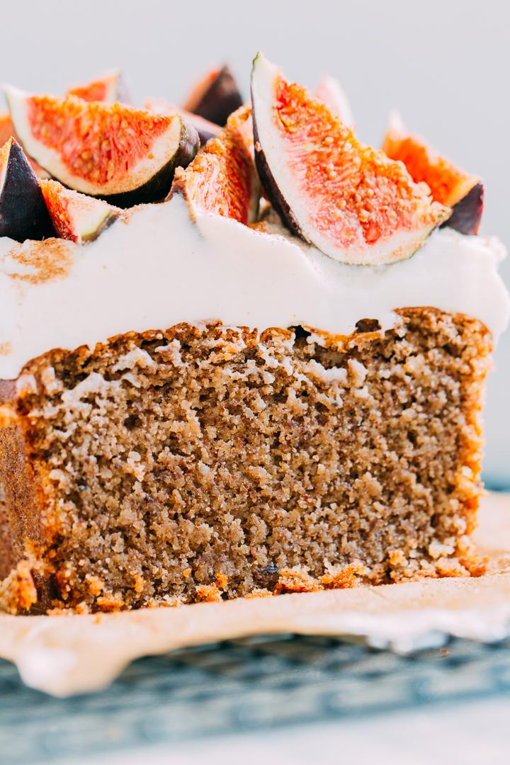 Chai Almond Cake